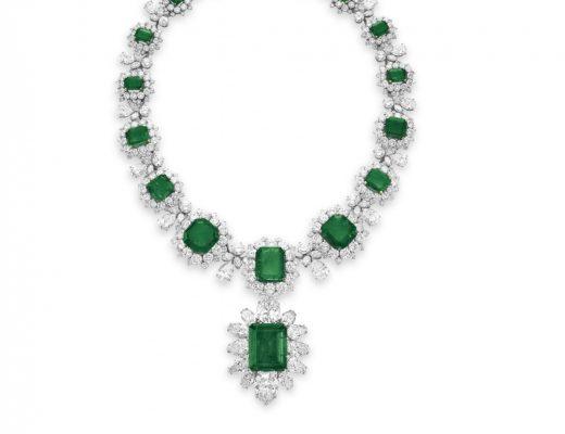 Elizabeth Taylor's Emerald Necklace