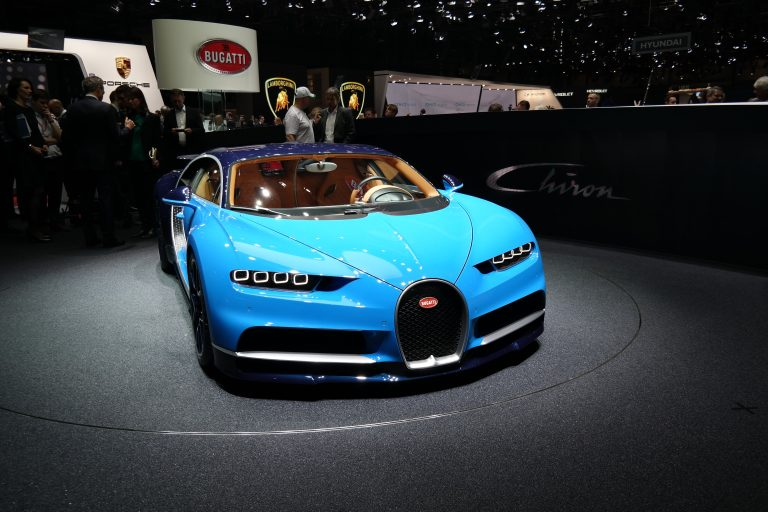 Bugatti leads the pack at the Geneva Motor Show