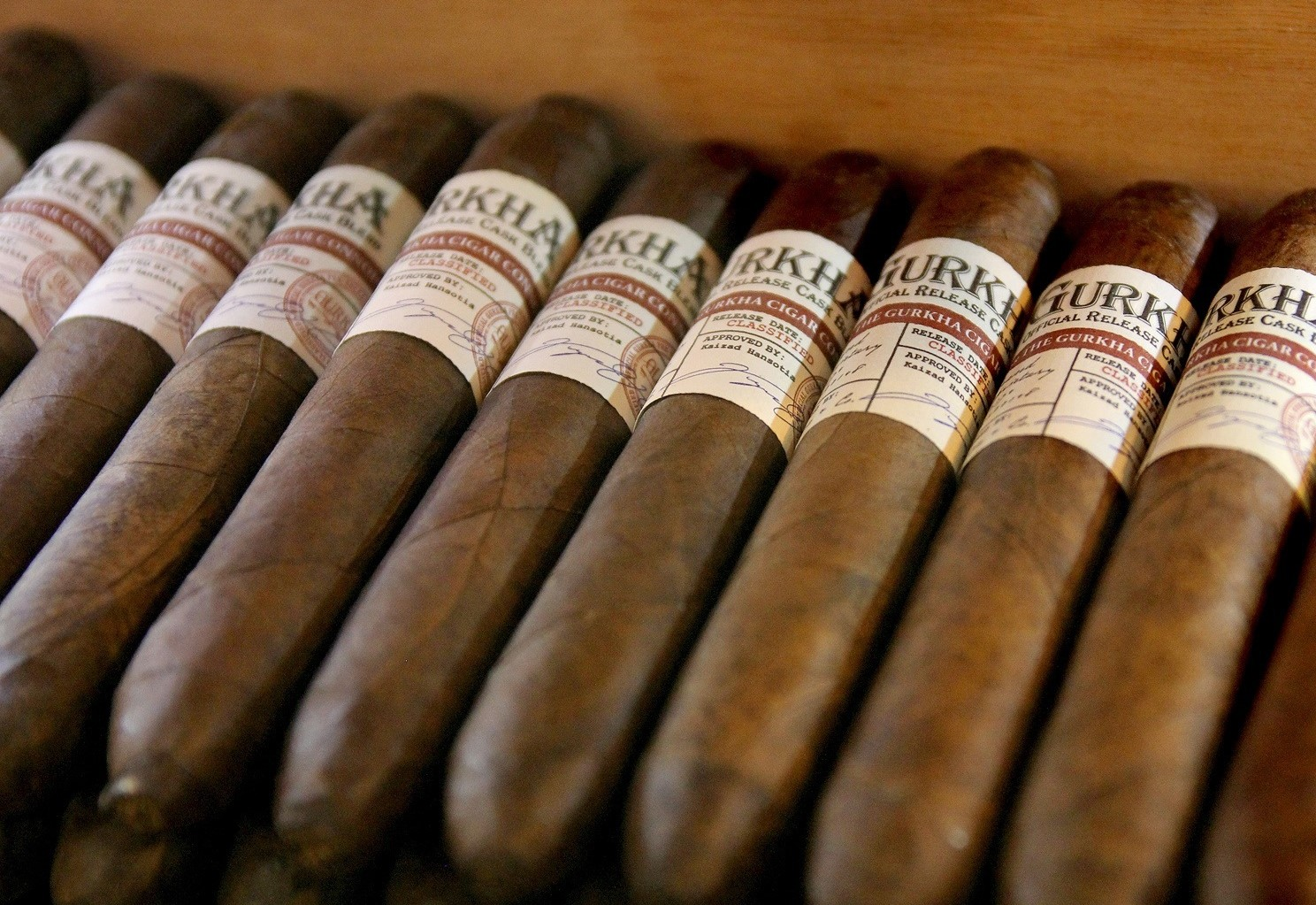 Gurkha's Most Extravagant Cigars