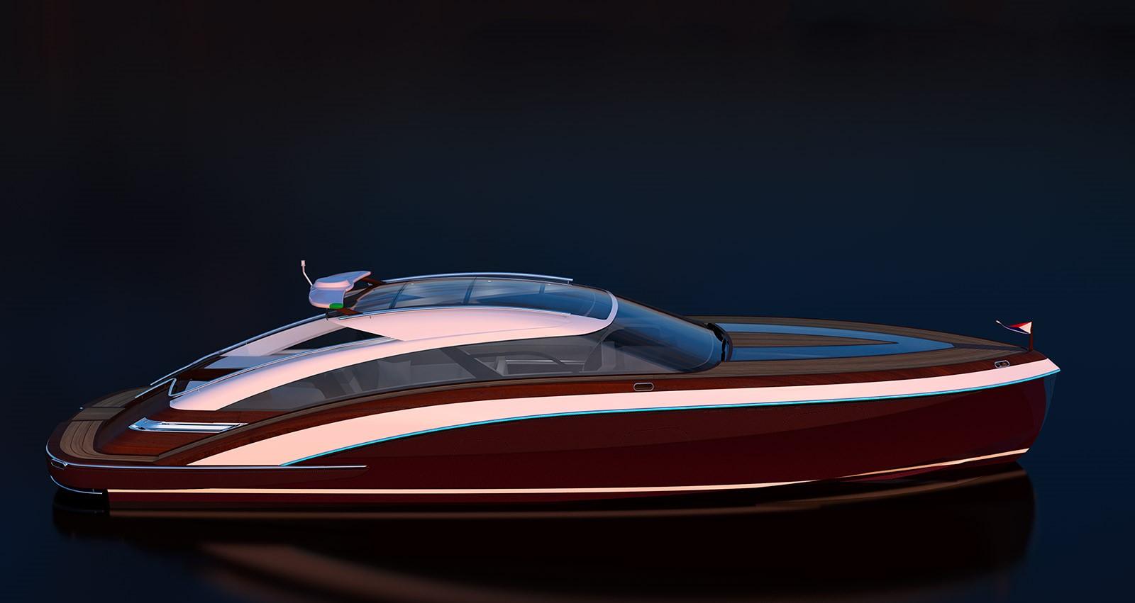 De Basto Design Onyx 41 Open for Hodgdon Yachts