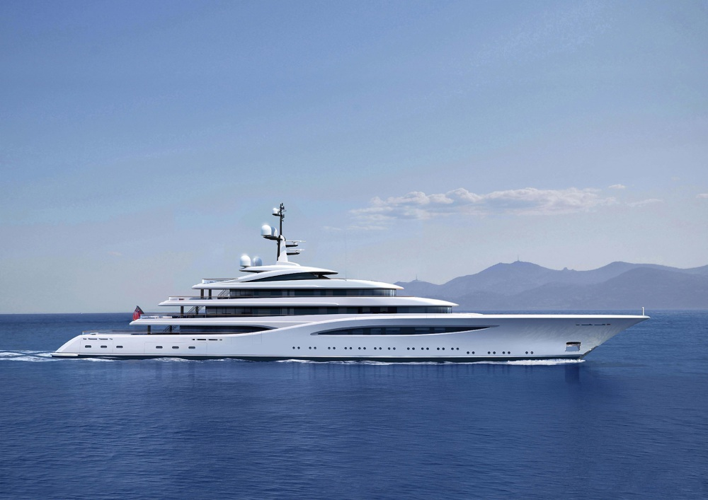 A 96 Meter Feadship Hits the Market