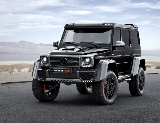 The Brabus-tuned Mercedes G500 4x4