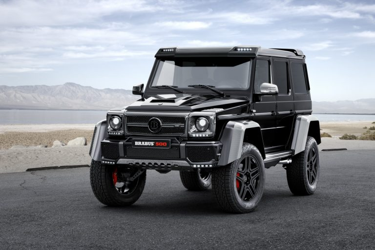 The Outrageous Brabus-tuned Mercedes G500 4×4