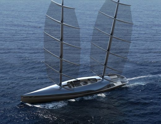 The Sailing Yacht Inspired by an Albatross