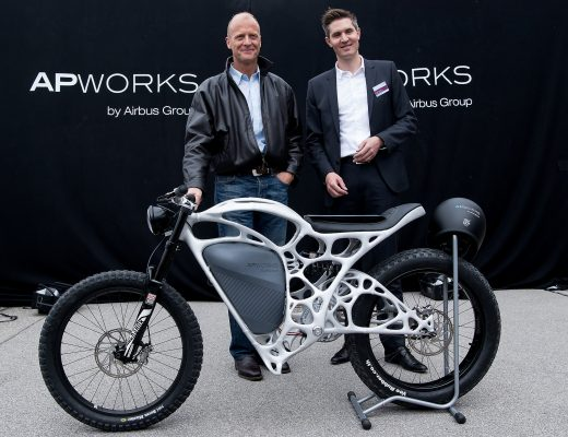 Airbus's 3-D Printed Motorbike