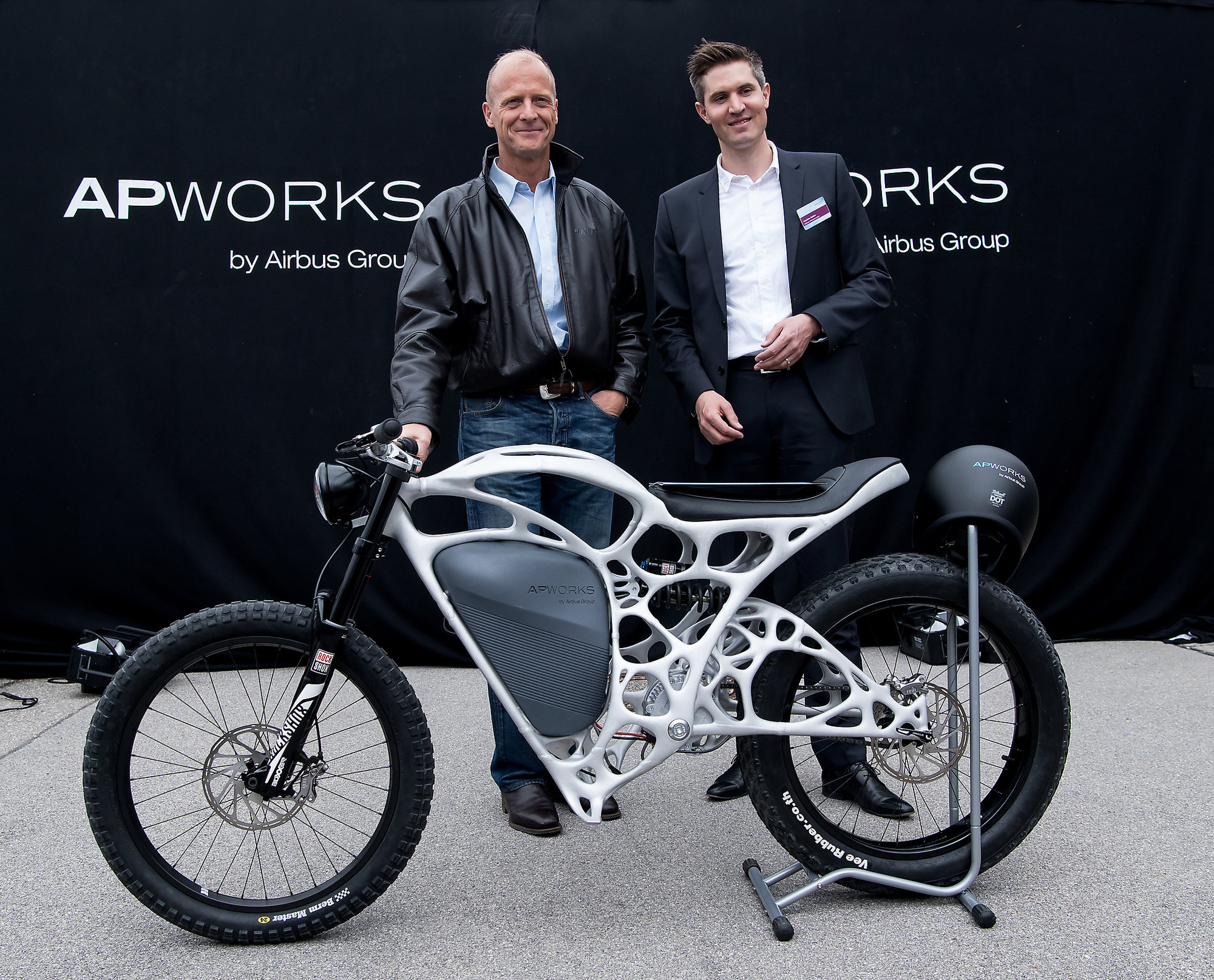 Airbus Showcases The First Ever 3-D Printed Motorbike