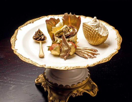 The Golden Phoenix Cupcake