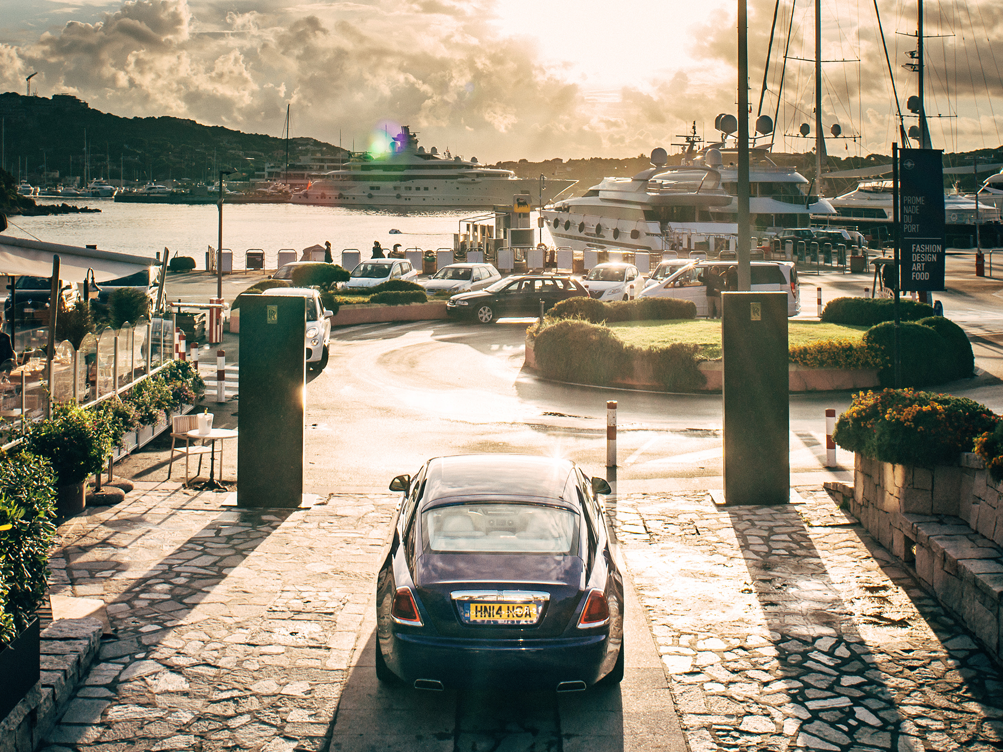 Rolls Royce opens a Summer Showroom in Porto Cervo
