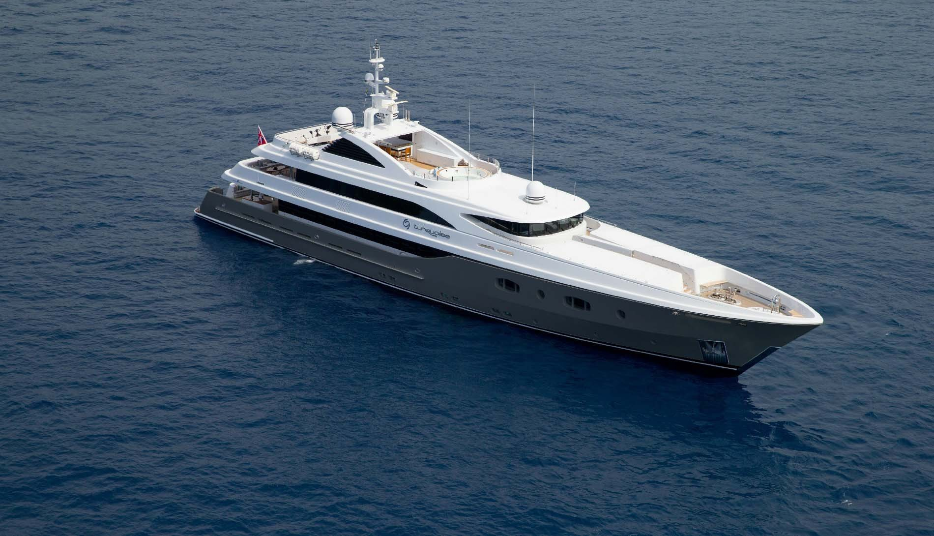 The Magnificent Super Yacht Turquoise