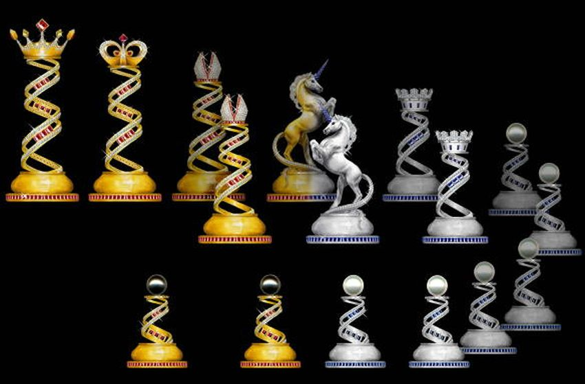 The Jewelry Royal Chess Set