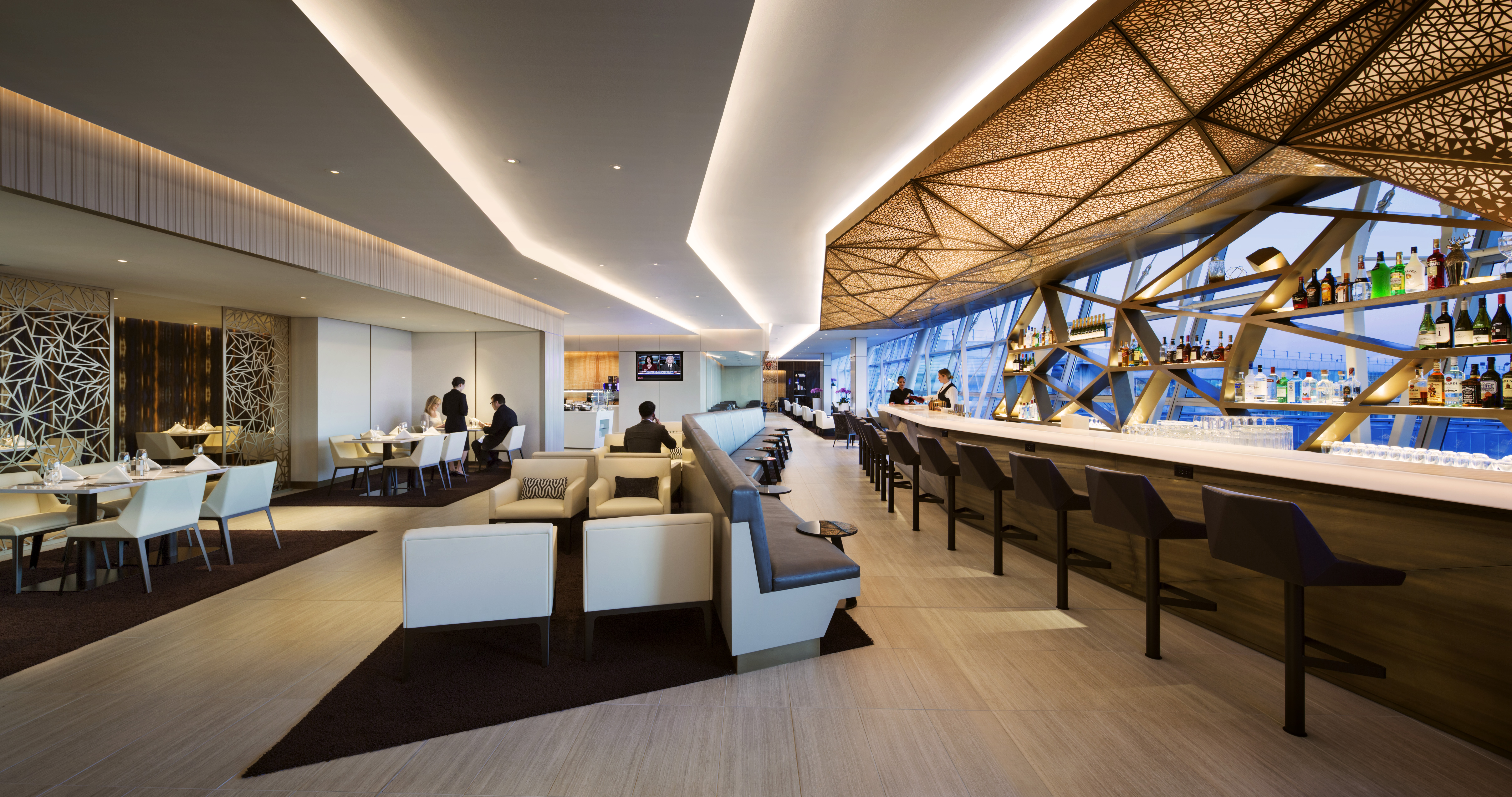 Etihad Airways Brings Comfort To Their First Class Lounge & Spa