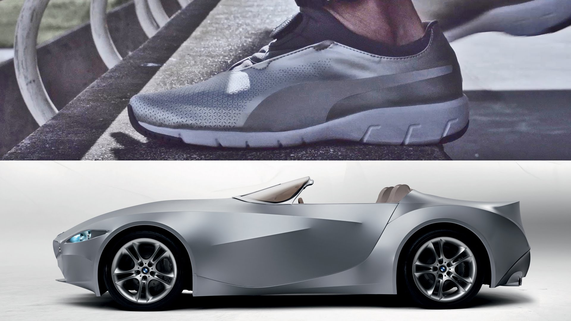 BMW and Puma Create Futuristic Shoes