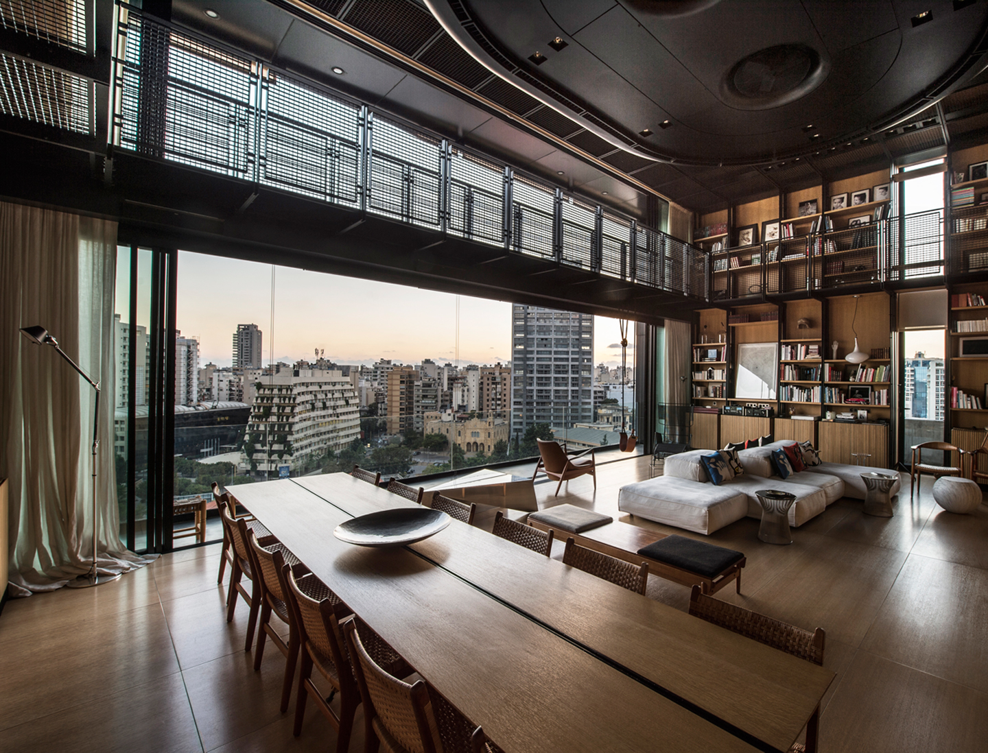 Wall Design Lebanon : Bernard khoury s extraordinary beirut penthouse the