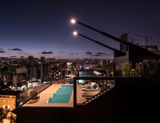 Bernard Khoury Beirut Penthouse
