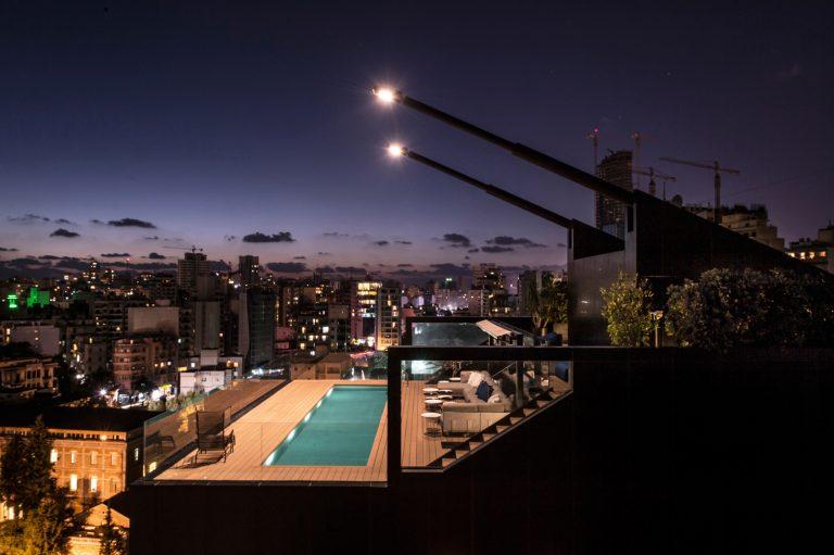 Bernard Khoury's Extraordinary Beirut Penthouse