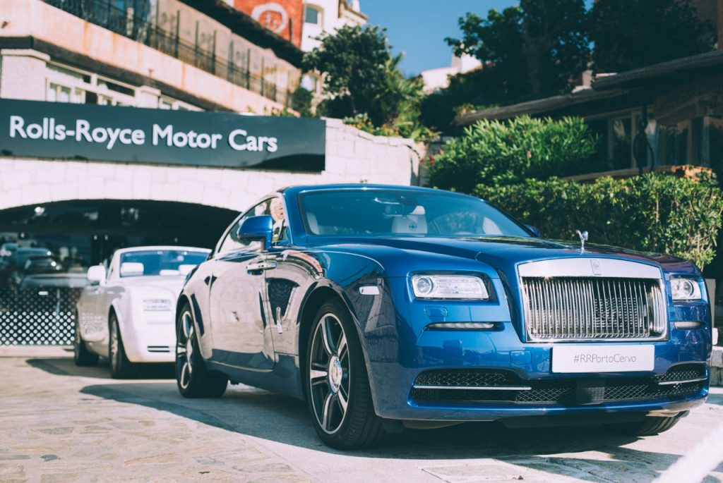 "Rolls Royce Showcases Bespoke ""Dawn Til Dusk"" Cars in Porto Cervo"