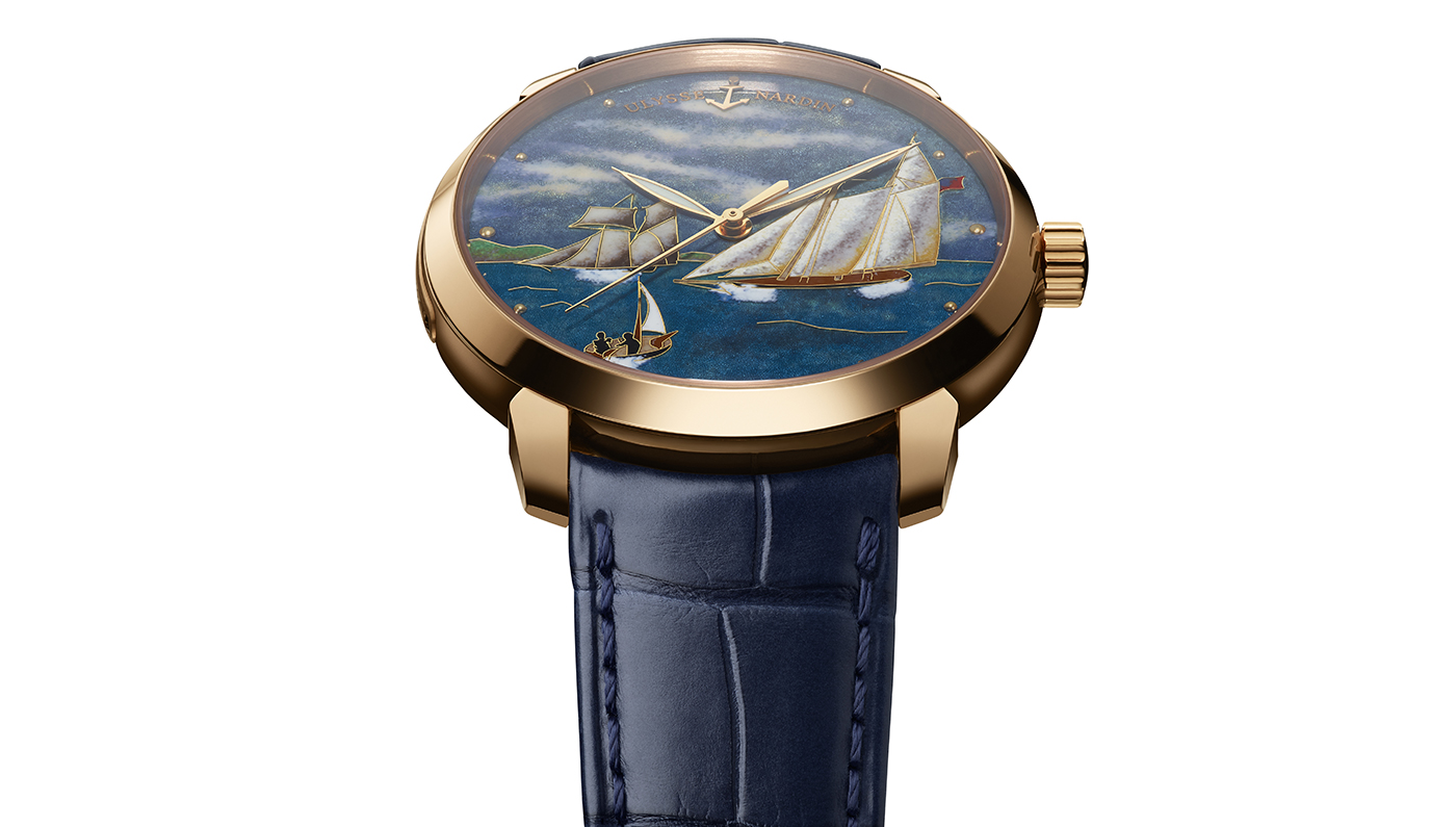 Ulysse Nardin's Newest Timepiece Which Honors The America's Cup