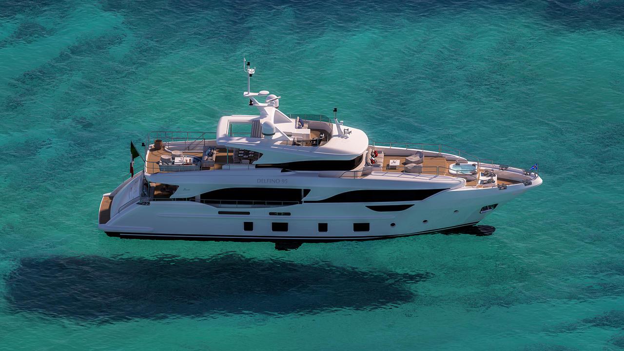 Benetti Sells Their Third Jaw-Dropping Delfino 95′ Super Yacht