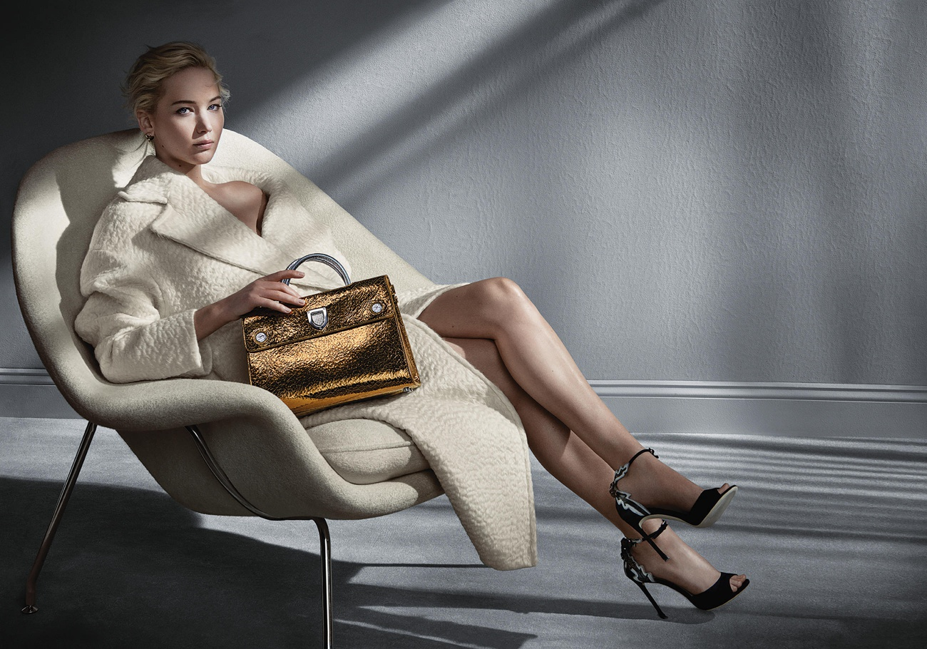 Jennifer Lawrence Leads Dior's Latest Accessory Campaign