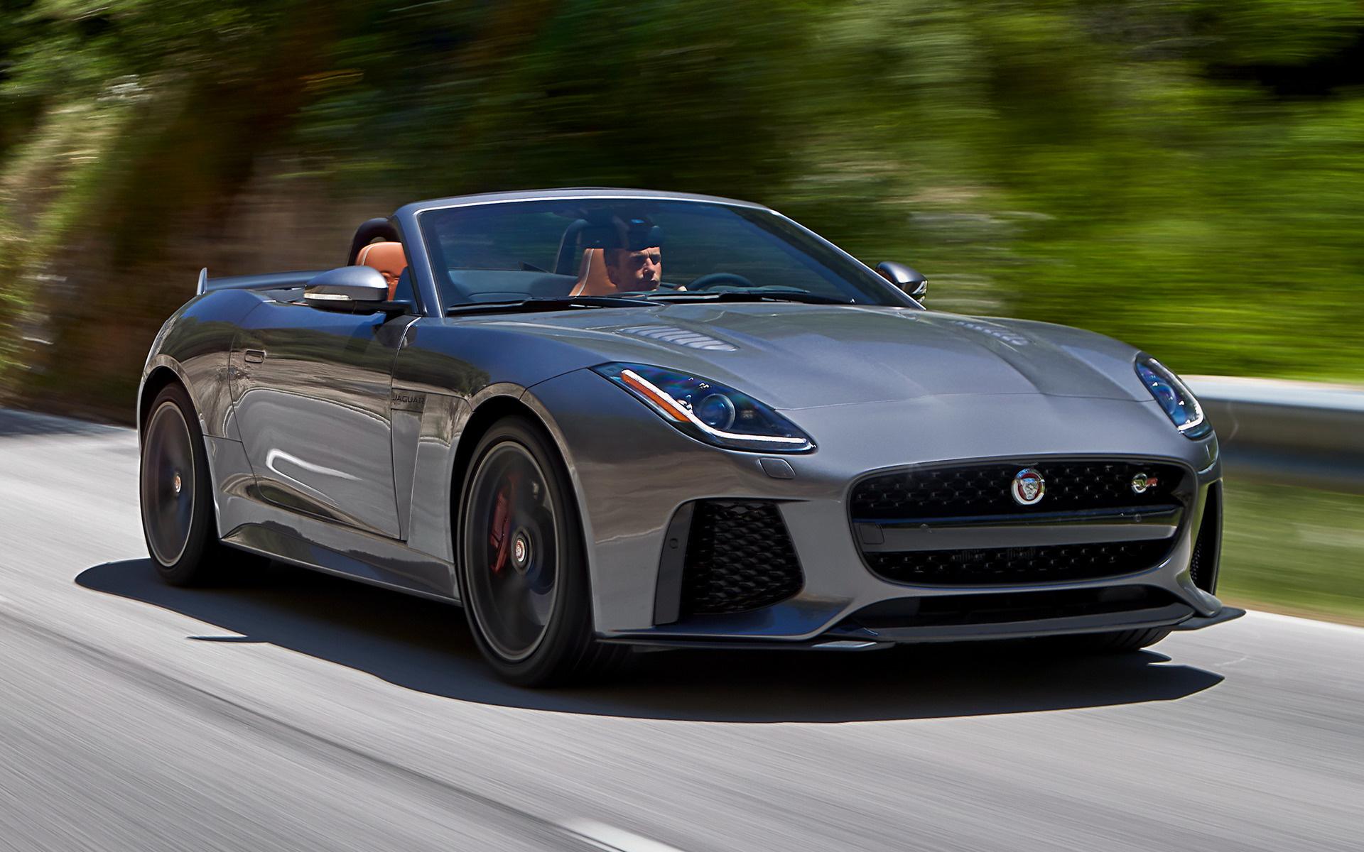 Jaguar's All New F-Type SVR
