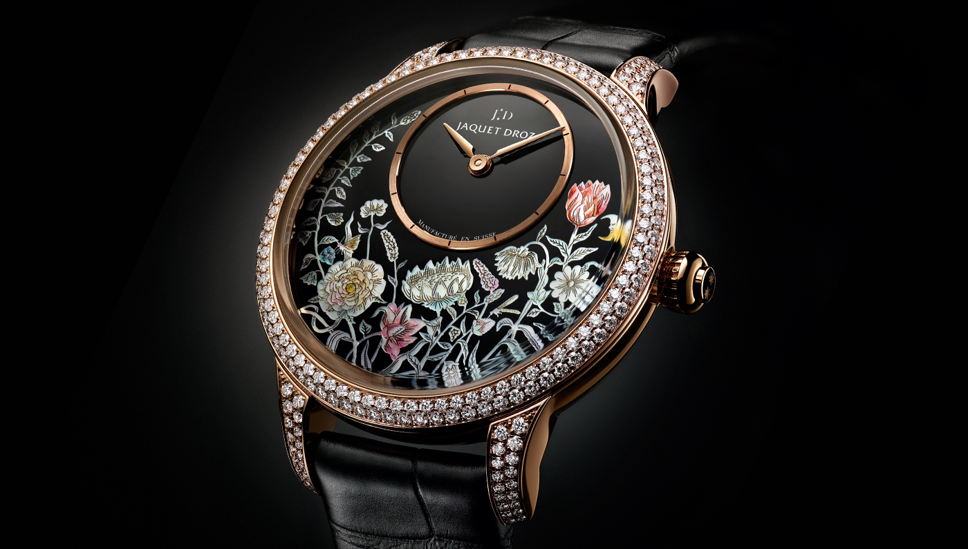 This Jaquet Droz Timepiece Is The Epitome Of Elegance
