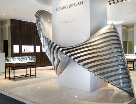 The Georg Jensen - Zaha Hadid Jewelry Collection