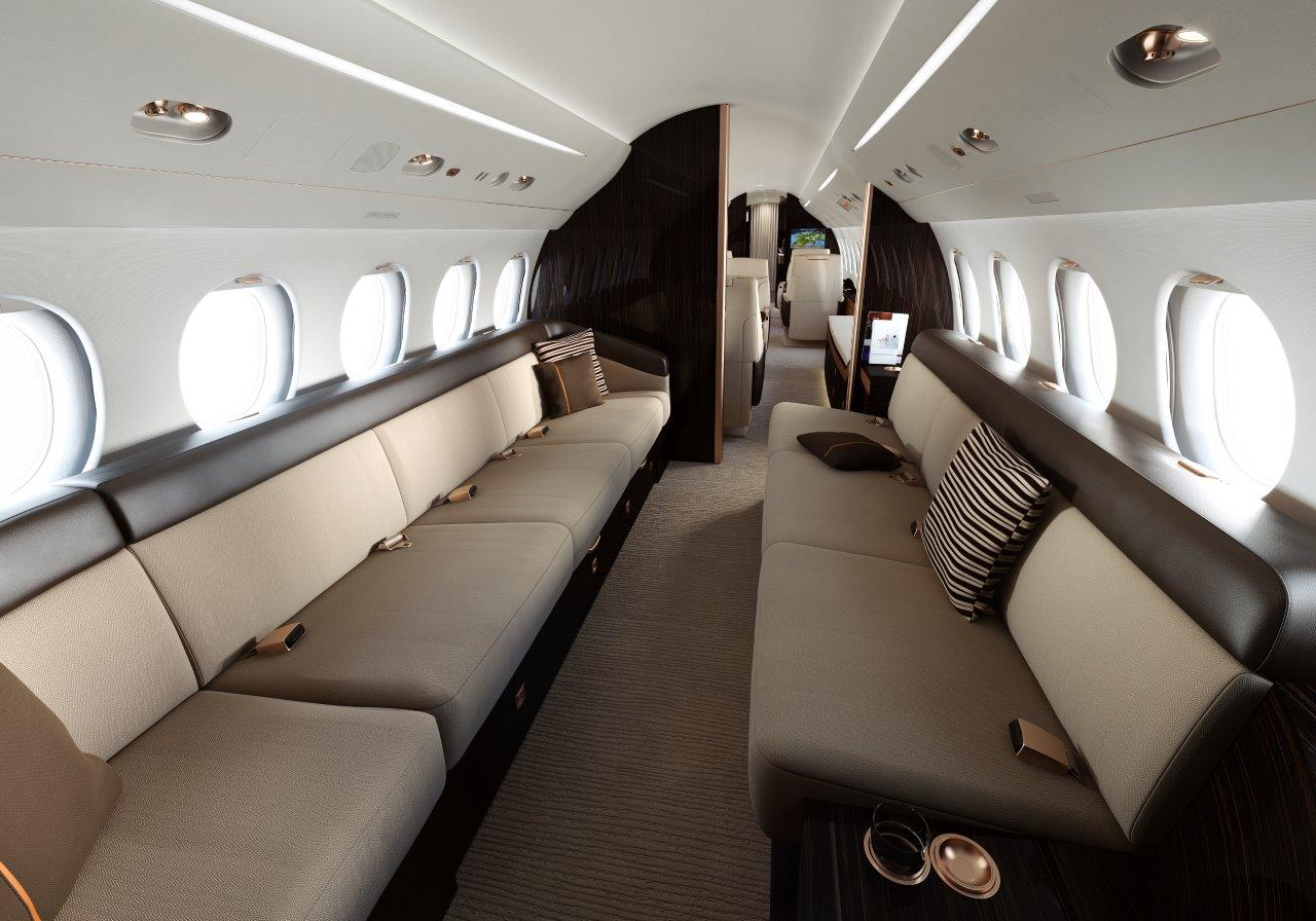 The First Dassault Falcon 8x Is Clear For Ascent The
