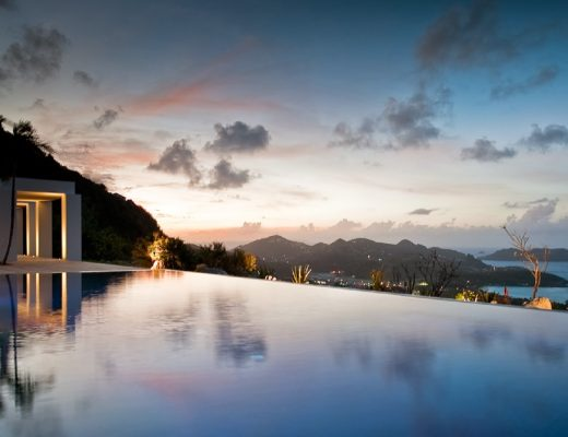 St. Barth's Camp David villa
