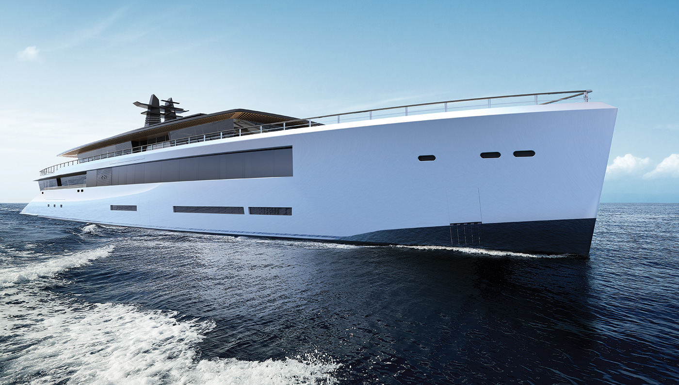 The Incredible Two-Deck Zen Superyacht