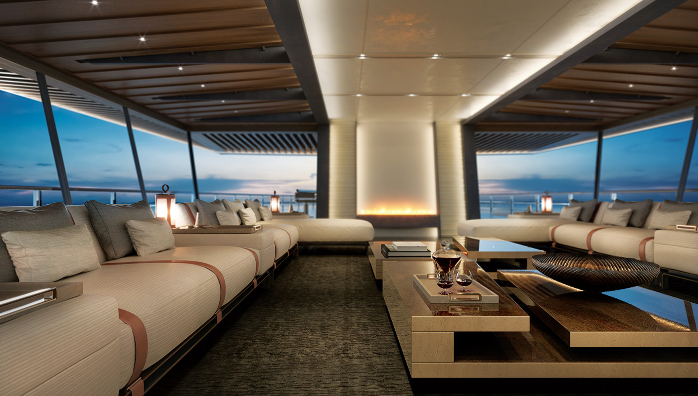 Million Dollar Yacht >> The Incredible Two-Deck Zen Superyacht | The Extravagant