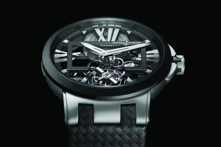 Ulysse Nardin's Translucent Executive Skeleton Tourbillon