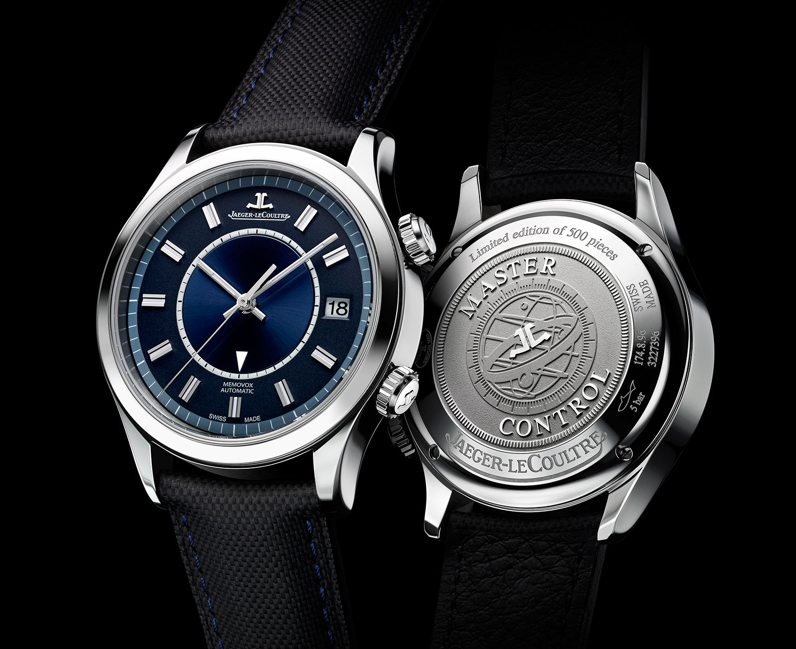 Jaeger LeCoultre Unveils Their New Master Memovox