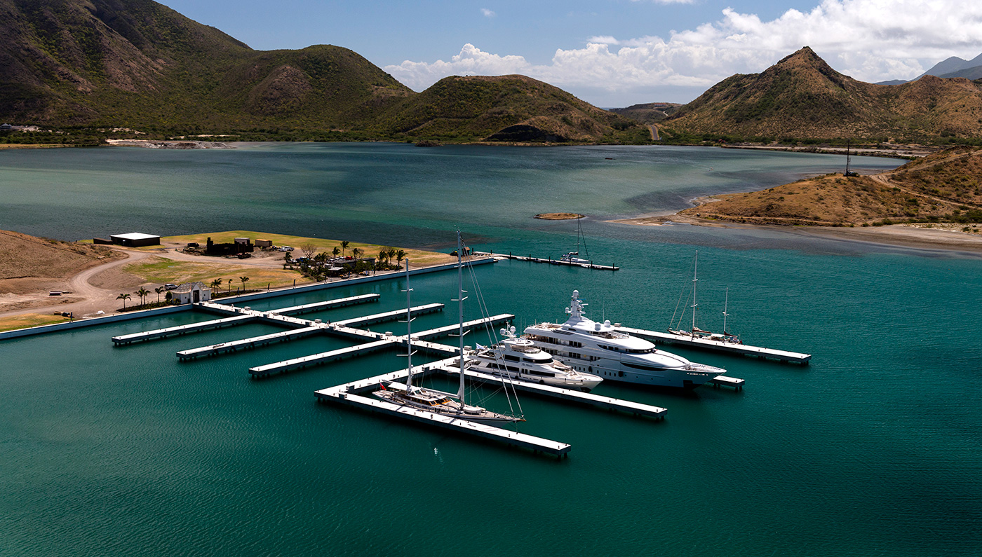 St. Kitts Welcomes a New Superyacht Marina