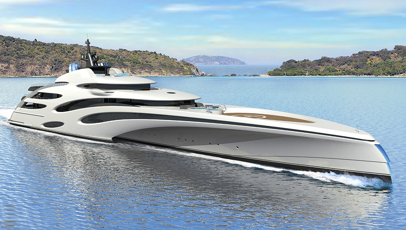 Yet Another Incredible Trimaran Concept by Echo Yachts