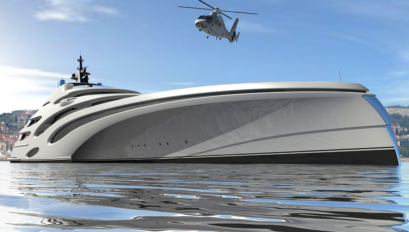 Trimaran Concept by Echo Yachts