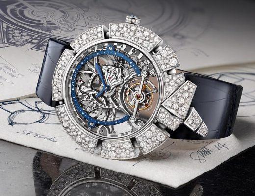 Bvlgari's Serpenti Incantati Tourbillon Lumiere timepiece