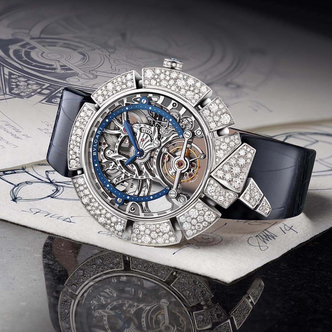 Bvlgari's Mesmerizing New Serpentine Motif Timepiece