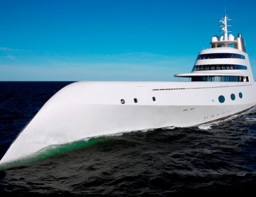 """The Groundbreaking Yacht """"A"""""""