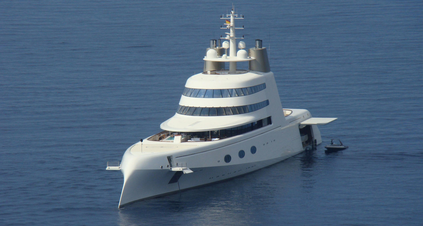 "The Groundbreaking Yacht ""A"""