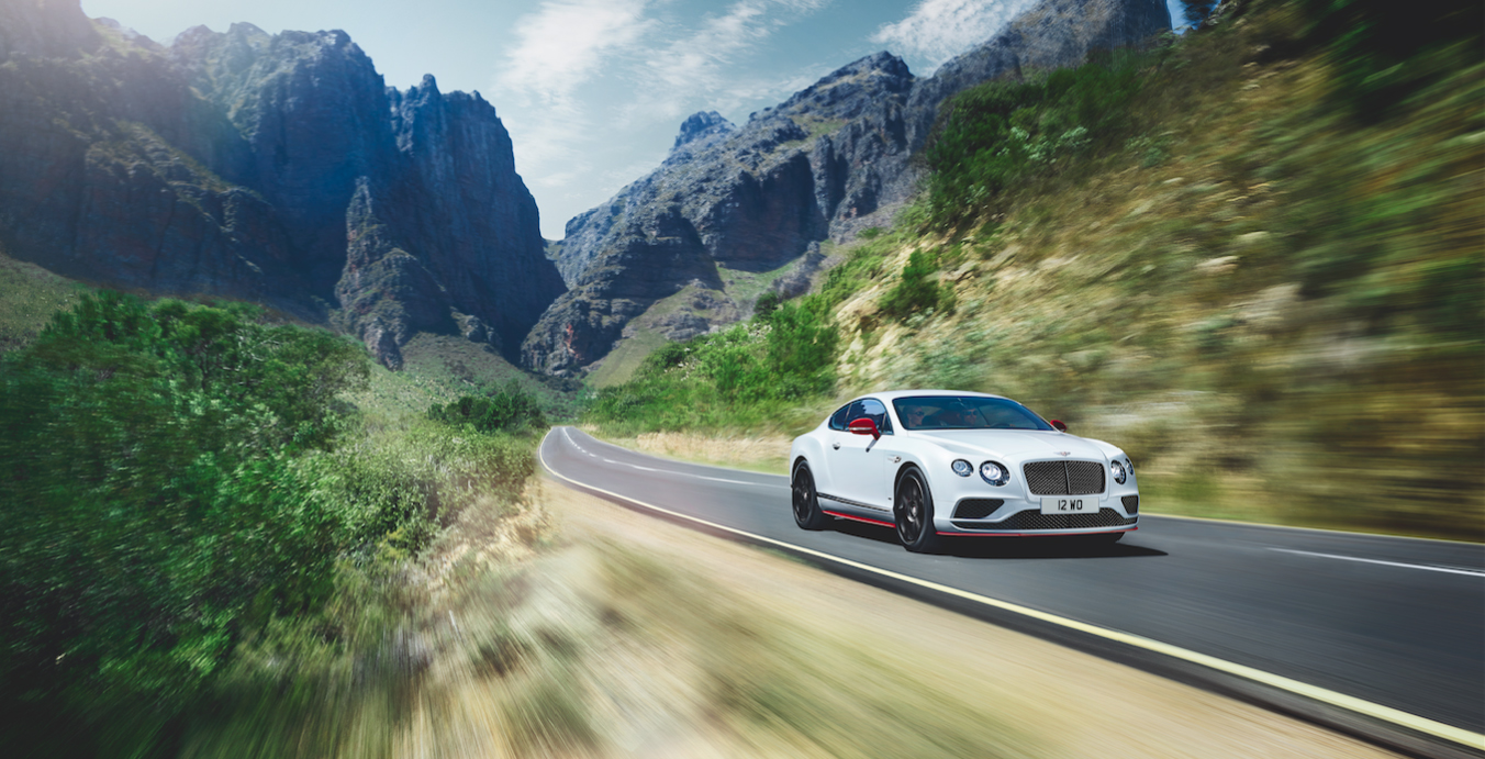 The New Bentley Continental GT V8S Black Edition