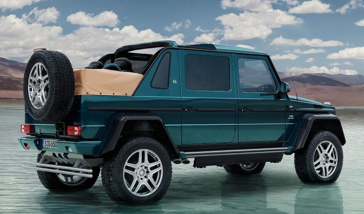 The Mercedes Maybach G650 Landaulet