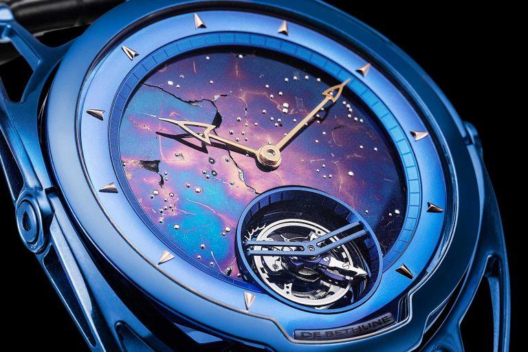 De Bethune's Bold Meteorite-Dial Timepieces