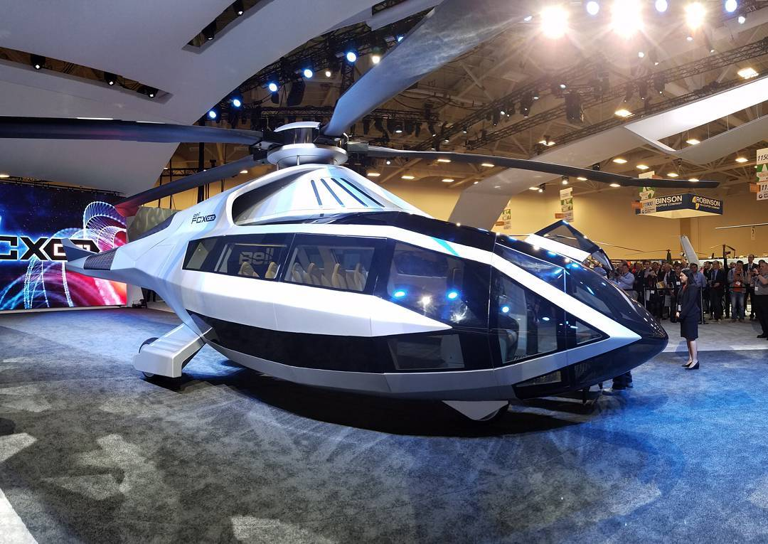 The Bell FCX-001, Bell Helicopter