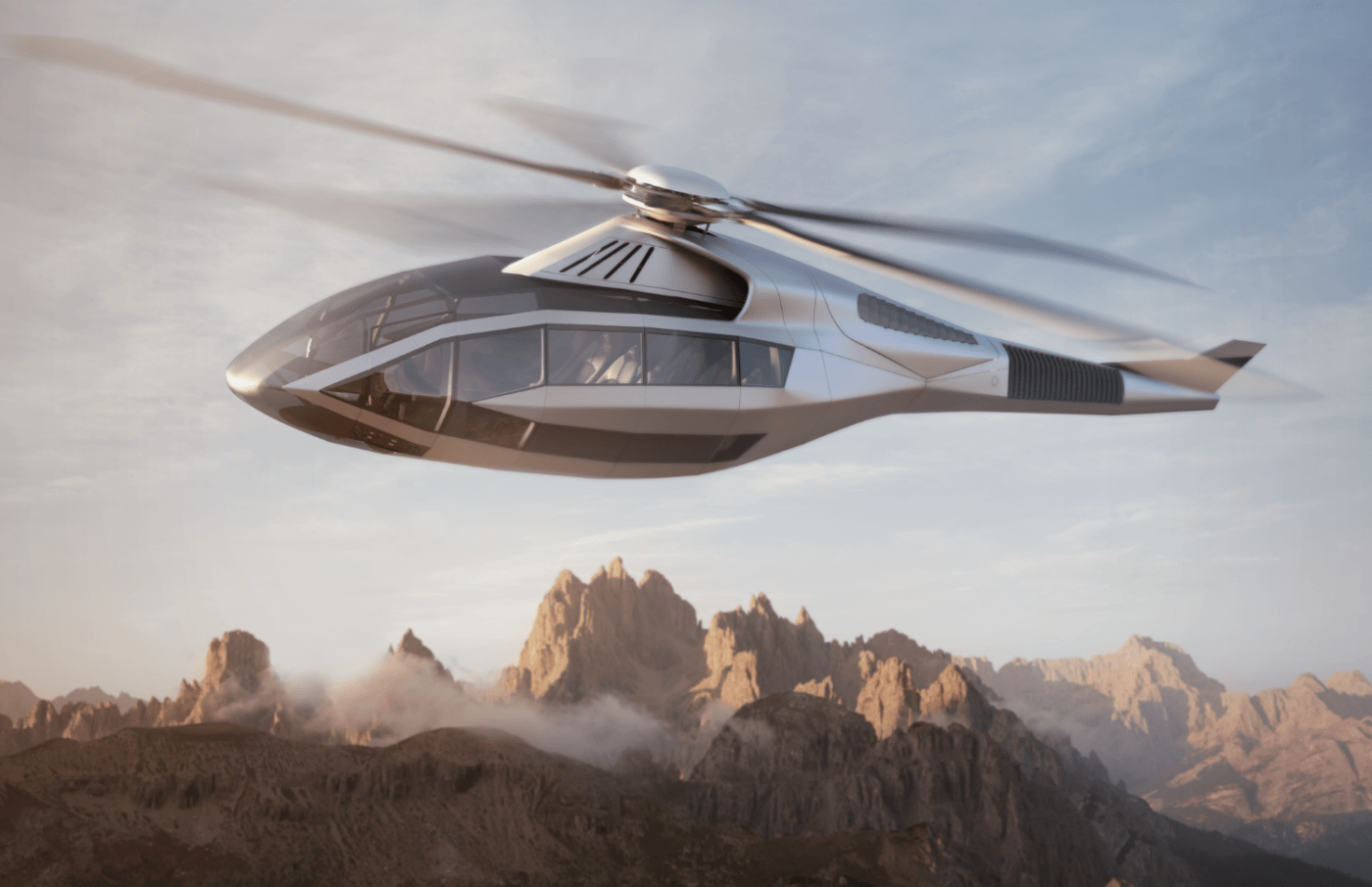 Bell's Innovative Helicopter Concept Unveiled