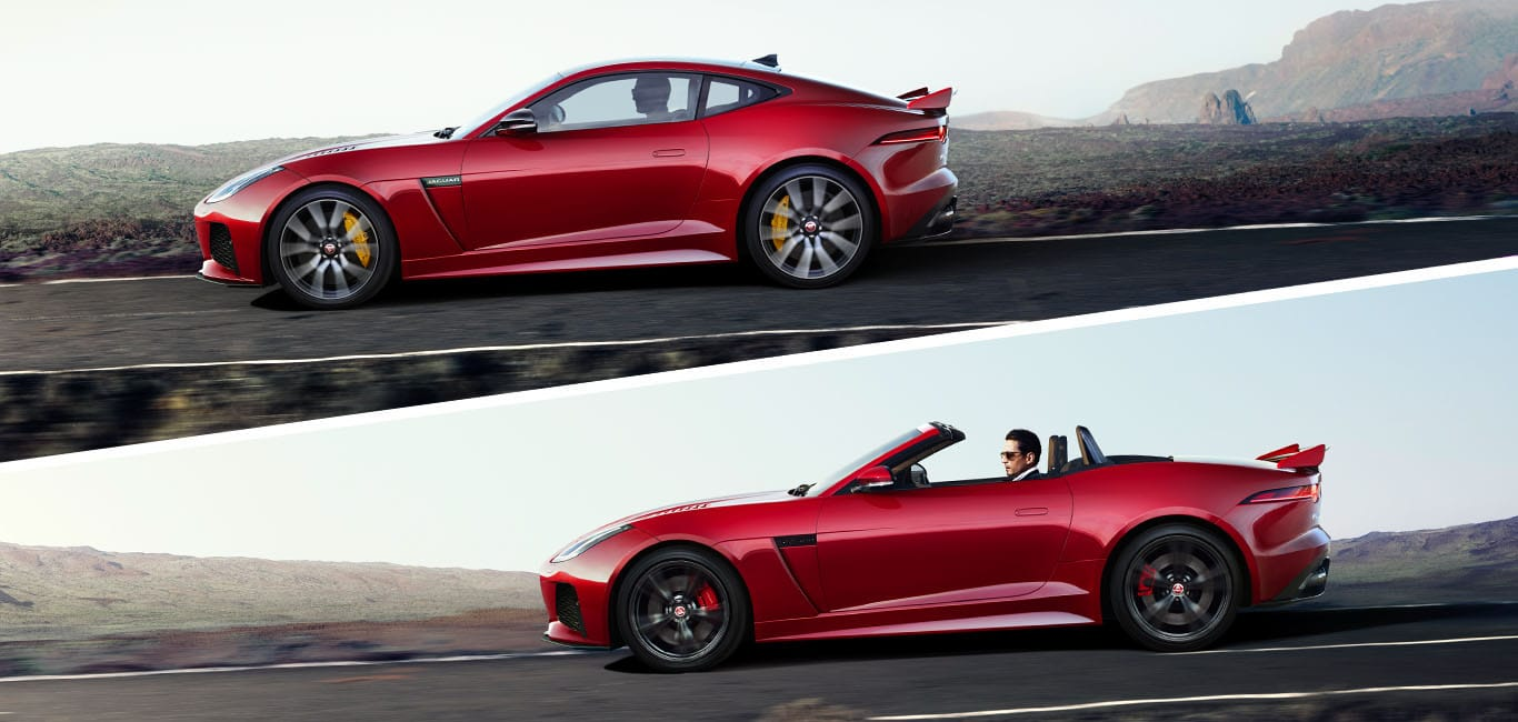 2018 F-Type Lineup
