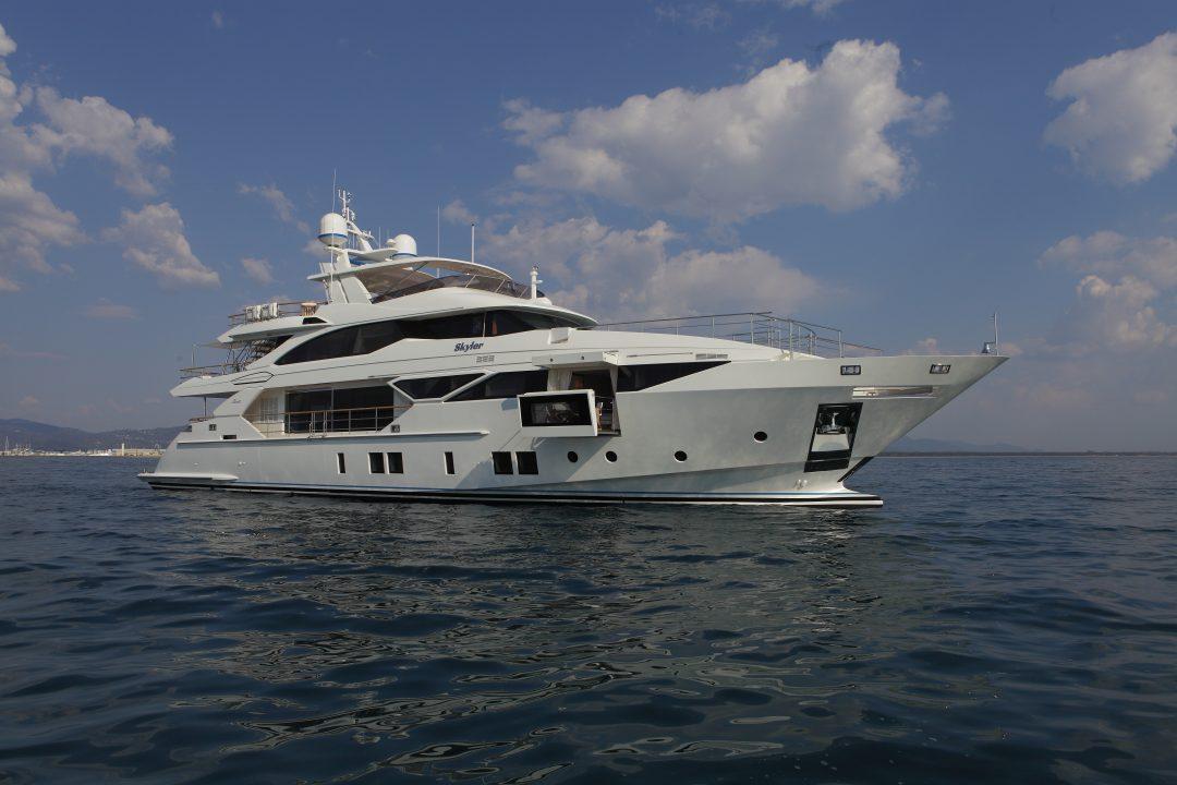 Benetti's Motoryacht Skyler