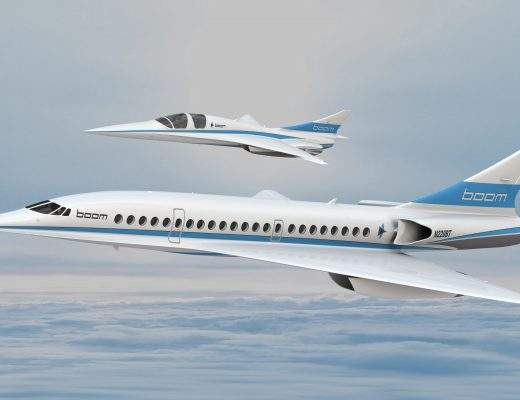 Branson's Innovated Supersonic Jet For 2020