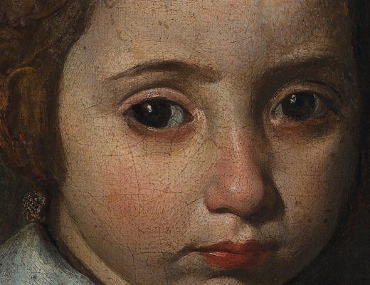 'Retrato de niña o Joven Inmaculada' by artist Diego Velázquez