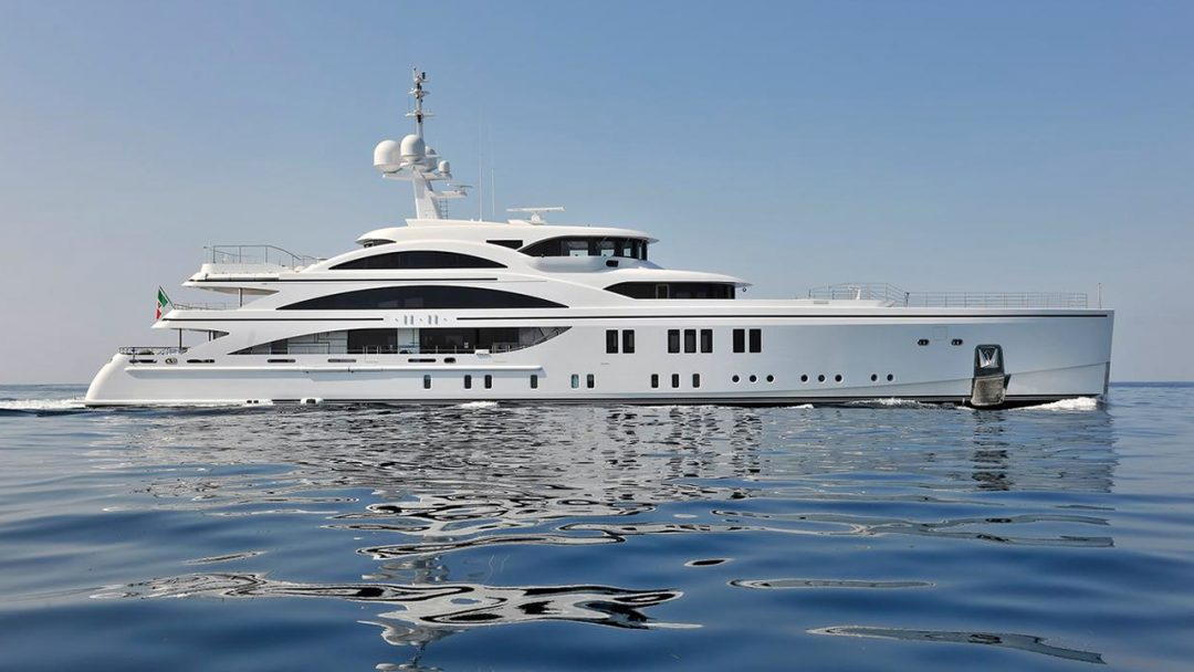 The Redesigned 63-metre Superyacht 11.11