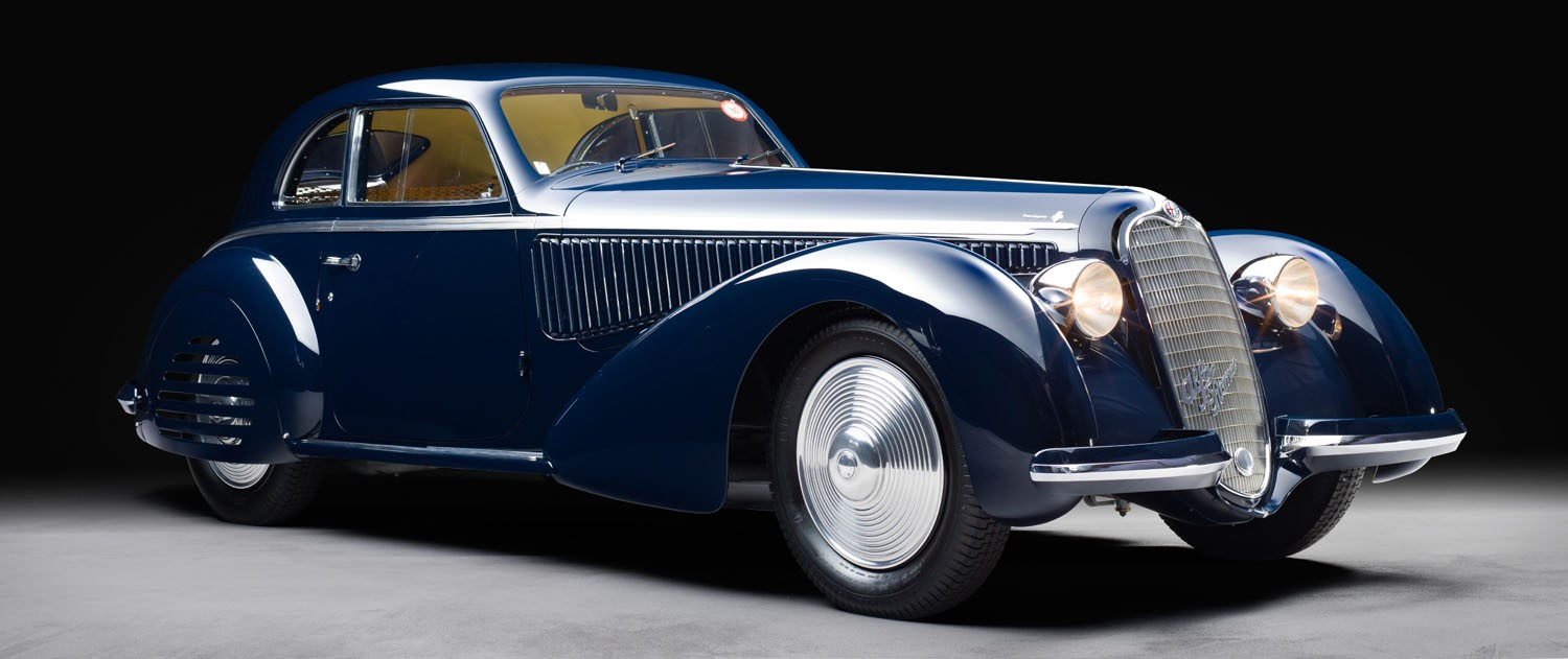 1938 Alfa Romeo 8C 2900B Berlinetta by Touring Superleggera: Chantilly Arts & Elégance Richard Mille